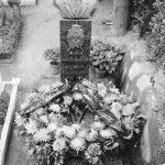 Надгробни споменик војводи Јевђевићу. Југословенска амбасада у Риму покушала је да спречи подизање овог споменика