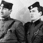 Милан Божић из Шкара, командант Другог батаљона Личкокордунашког корпуса (умро у Енглеској) и Јовица Бракус из Залужница, национални повереник Првог јуришног батаљона, а од фебруара 1945. Прве бригаде (живи у Канади)