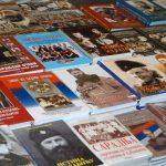 Поглед на штанд ''Погледа'', на Сајму књига у Београду октобра 2013.