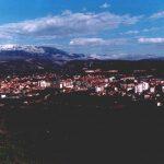 Панорама Книна, марта 1994. године СНИМИО: Горан Вељковић