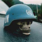 Блажуј, 25. септембра 1995. Украс на аутомобилу војводе Васкета СНИМИО: Горан Вељковић