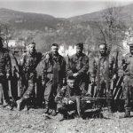 """Група """"Лисице"""", на Горажду априла 1995. године СНИМИО: Горан Вељковић"""