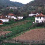 Старе куће у Страгарима. Родно место Танаска Рајића, још увек донекле одолева савременој цивилизацији, али старачка домаћинства заувек пролазе са својим кућаницима.