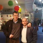 На Сајму књига у Београду, 28. октобра 2015: Милослав Самарџић и Гаврило Грбан