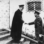 Први сусрет Павелића и Хитлера 6. јуна 1941. године у Хитлеровој резиденцији Бергхоф код Берхтесгадена у Баварској