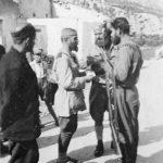 Капетан Миливоје Ковачевић ''Риста'' (лево) са капетаном Милорадом Видачићем (у средини) и наредником Јованом Бегенишићем (десно) , на Јасену код Моска октобра 1943. године ''Закукале Херцеговке, од Требиња до Мостара: Видачићу Милораде, после седам годин` боја Ти погибе, надо моја. Ко ће бранит` брда твоја, од поганог пасјег соја?''