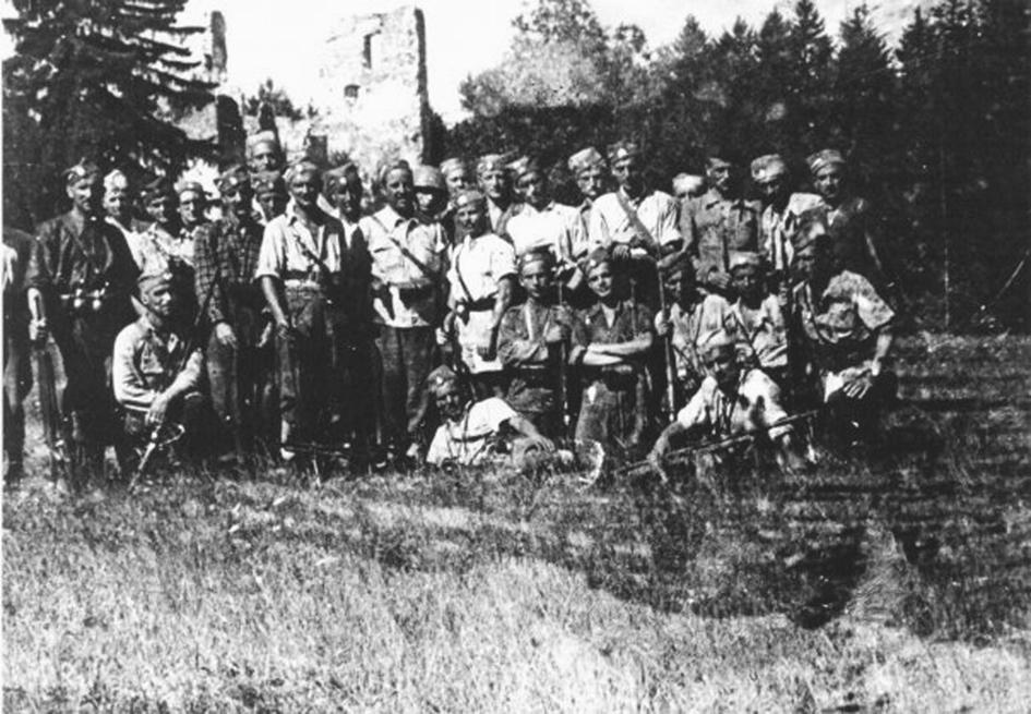 Словеначки четници лета 1943.