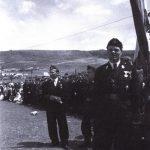 """Рафаел Бобан, најпре заменик команданта а након Францетићеве погибије и командант """"Црне легије"""". Маја 1945. успева да побегне у Аустрију. Постоји више верзија његове даље судбине. Према једној погинуо је после рата у сукобу са комунистичким властима, према другој умро је у емиграцији."""