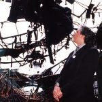 """Данијел Шифер, француски филозоф и хуманиста, у """"Застави"""" после бомбардовања"""