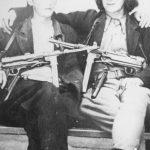 Четници 2. драгачевске бригаде из с. Латвице: Милоје Селаковић (убијен априла 1946. од комуниста) и Милан Павловић (страдао у Босанској голготи)