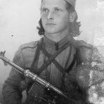 Наредник Драгутин Јанковић, Милутинов рођени брат, заставник Драгачевске бригаде. Убијен 1951. године код своје куће у Дљину. На полеђини слике пише: ''За успомену свом команданту и свом рођеном брату...''