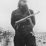 Јован Петровић Гаша, вероватно потпоручник (пре рата ваздухопловни наредник), командант 1. батаљона Беличке бригаде Варваринског корпуса