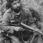 Капетан Бошко Стојковић из Лепенице код Србца, командант 2. батаљона Мотајичке бригаде. Био је члан четничке организације од 1938. и један од организатора устанка 1941. Похваљен и награђен лично од генерала Михаиловића, 1944. Убијен од стране Удбе 1947. године. Овај снимак настао је после рата