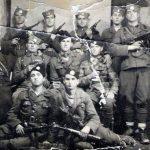 Четници Динарске четничке дивизије са ''шмајсерима''