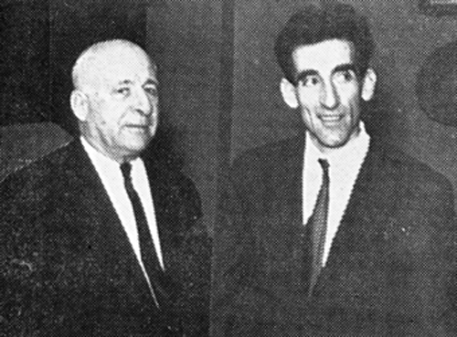 Алија Коњхоџић и принц Андреј Карађорђевић