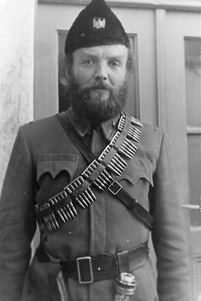 Петар Бубрешко као командант Требињског среза