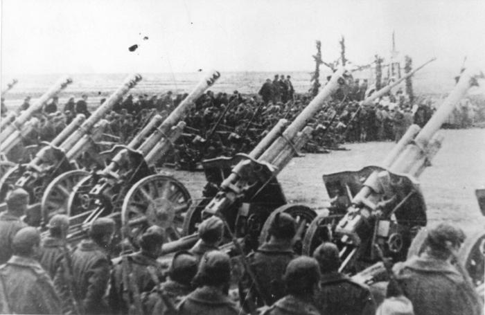 Артиљерија партизанског 8. корпуса