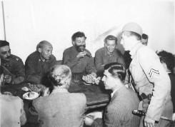 mekdauel i draza, krajem avgusta 1944