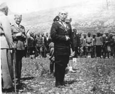 Војвода Илија Трифуновић Бирчанин 1942. године међу херцеговачким четницима
