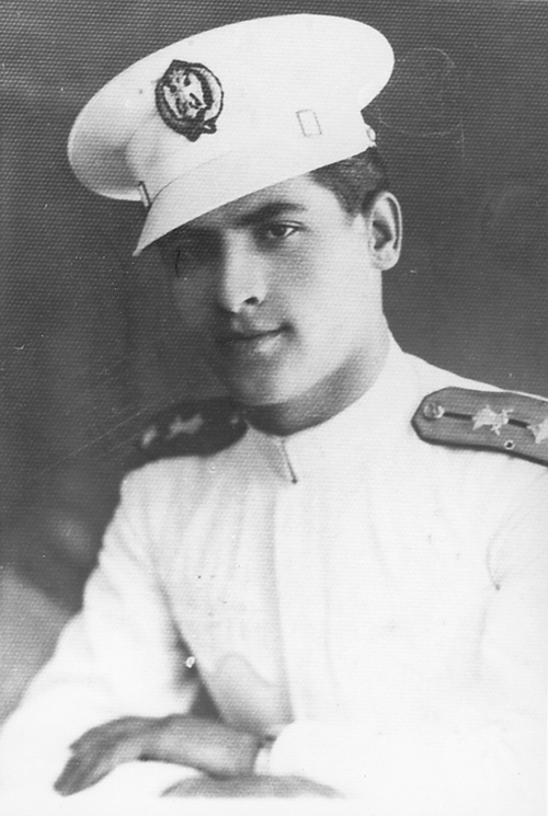 Rade Petrovic Kent as a young officer