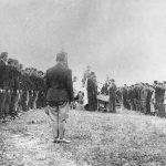 Детаљ са полагања заклетве 3. јуна 1942.