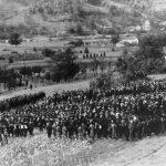 Код Манастира Горњак 3. јуна 1942. заклетву је положило преко 1.000 регрута, а церемонији је присуствовао велики број цивила