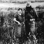Капетан Блажа Радосавевић, командант Хомољске јуришне бригаде. Погинуо је 1947. на Бељаници, заједно са Владом Ковачевићем из Херцеговине. Родом из Црне Горе, на фотографији је са супругом