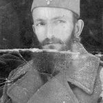 The corps priest Vlada Vesovic (died of typhoid fever in Bosnia 1945)