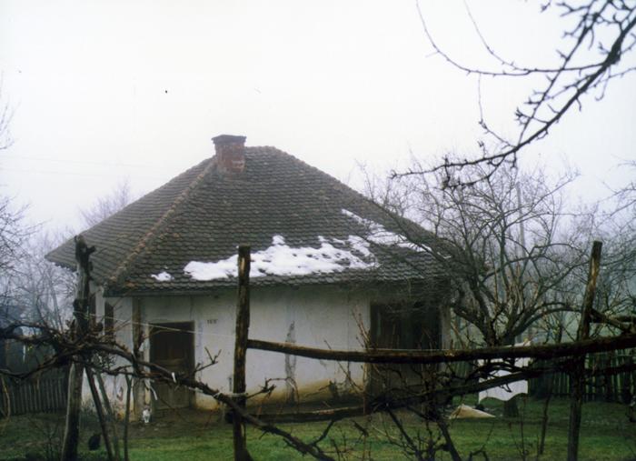 Родна кућа Драгослава Рачића, снимљена почетком 1997. године