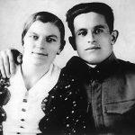 Никола Мајсторовић са сестром Олгом