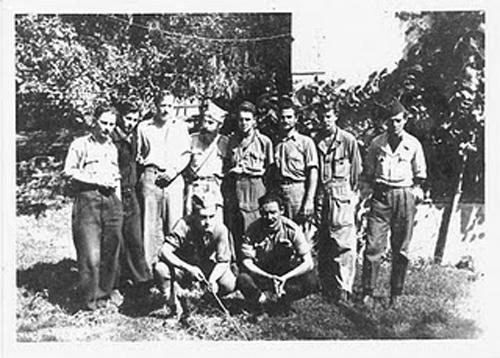 Milton Friend and Chetniks in Yugoslavia 1944