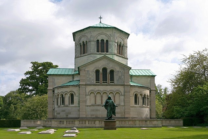 Queen Maria has been buried at the Royal Burial Ground adjacent to the Royal Mausoleum at Frogmore, Windsor