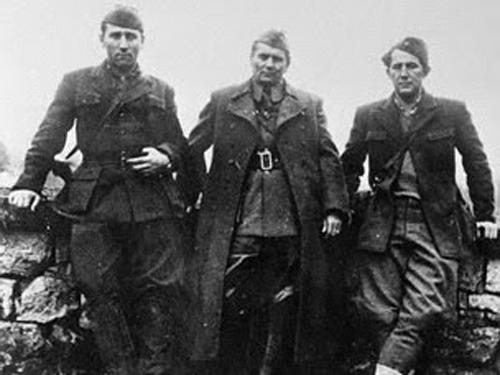 Rankovic, Tito, and Milovan Djilas WWII