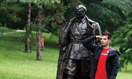 Statue of Tito in Belgrade, Serbia. Photo: Reuters