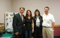 From left to right: Desko Nikitovic, Dana Maksimovich, Aleksandra Rebic and Greg Freeman