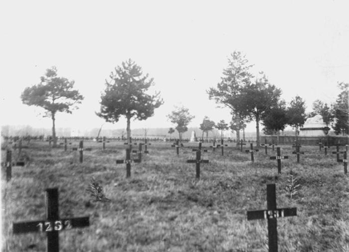 Изглед гробља у Шумарица пре него што су га комунисти порушили