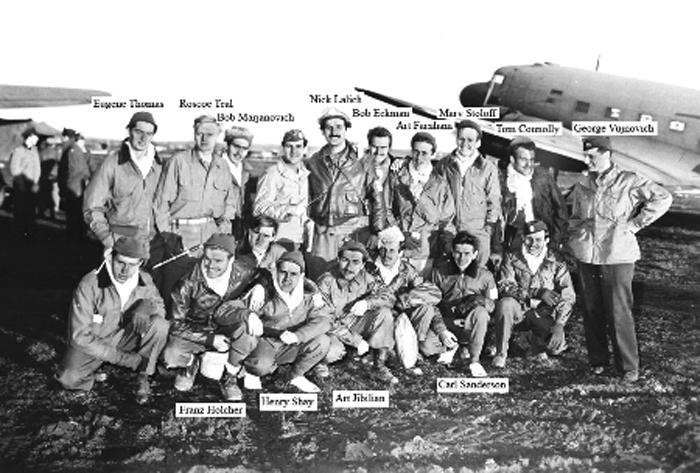 Back in Italy 12-28-1944 (G. Vuynovich at right)