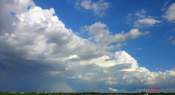 A changing summer sky over Chicagoland June 27, 2013 (6) A. Rebic