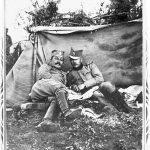 Драгиша Васић, десно, на Солунском фронту
