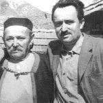 Давид Дамјановић са оцем после изласка из затвора
