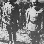 Пуковник Дража Михаиловић и мајор Драгиша Васић (Чича и Чича бр. 2), 6. септембра 1941. на Равној Гори