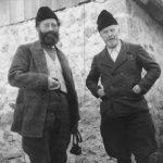 Генерал Дража Михаиловић и мајор Драгиша Васић, 6. децембра 1942. у селу Горње Липово изнад Колашина