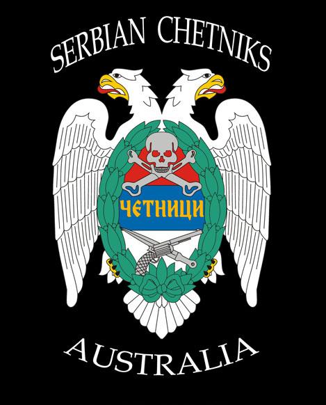 Serbian Chetniks Australia Logo