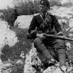 Поручник бојног брода Јаков Јововић, командант Бјелопавлићке бригаде