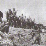 32.Српска артиљерија креће на положај