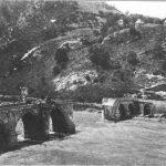 42.Мост на Дрини у Вишегради, који су мниирали Аустроугари у бекству