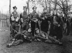 Четници 2. крушевачке бригаде Расинског корпуса, у селу Кошеви код Крушевца