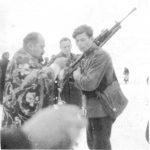 Причест Воје Михаиловића, крајем 1944. године