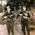 Четници из Грделице: Тане Дуља и Драги Бојко