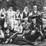 Четници са народом у лесковачком крају